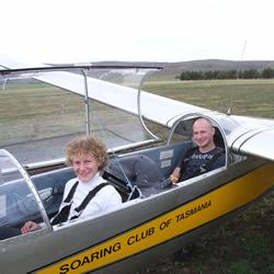 Gliding Tasmania - Introductory Glider Flight