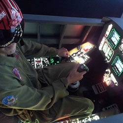 Jet Flight Simulator Adelaide - 30 Minute F/A-18 Fighter Jet Simulator Experience