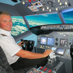 120 Minute Jet Flight Simulator Experience